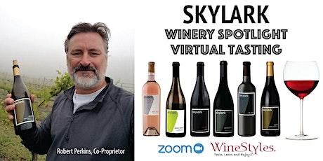 Skylark Virtual Wine Tasting tickets