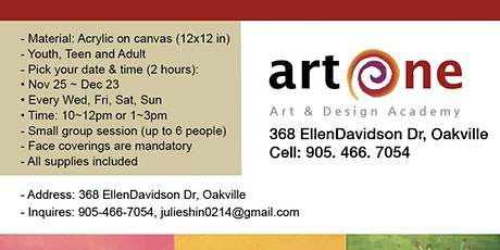 Christmas Panting & Refreshments tickets