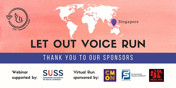 Let Our Voice Run - Singapore (Virtual Run) image