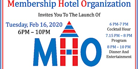 MHO Hotels Launch tickets