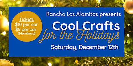 Cool Crafts for the Holidays tickets