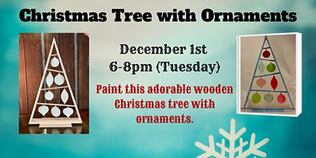 Wooden Christmas Tree tickets