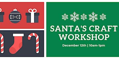 Santa's Craft Workshop tickets