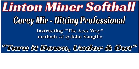 Linton Miner Softball Elite Hitting Clinic tickets