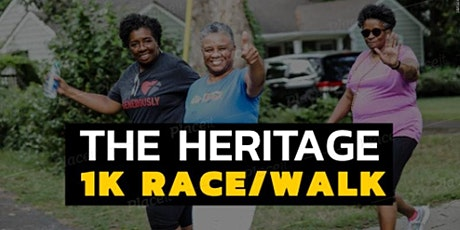 The Heritage 1k RACE/WALK tickets