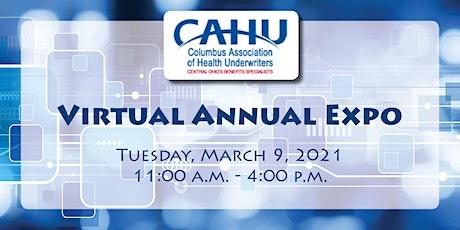 2021 Virtual CAHU Annual Expo tickets