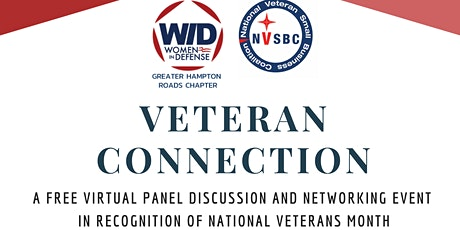 Veteran Connection Virtual Panel Discussion & Networking Event tickets