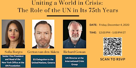 Uniting a World in Crisis: The Role of the UN in Its 75th Year tickets