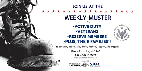 Weekly Muster tickets