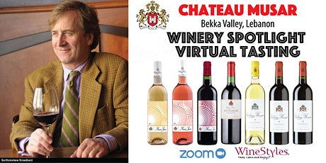 Chateau Musar Virtual Wine Tasting tickets
