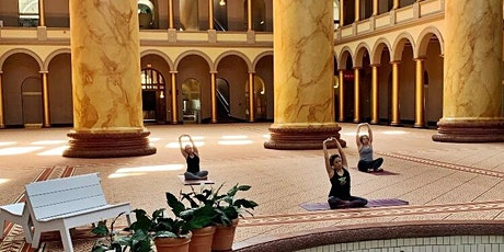 VIRTUAL: Yoga at the National Building Museum tickets