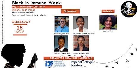 Immunology Technology Panel tickets