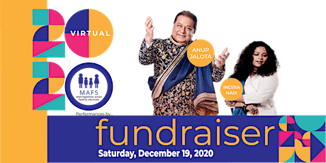 MAFS 2020 Virtual Annual Fundraiser - Musical Performance by Anup Jalota tickets
