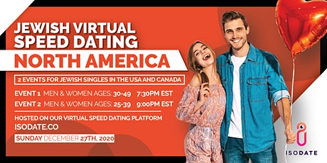 Isodate's North America Jewish Virtual Speed Dating- Hanukkah Special tickets