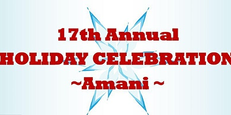 Celebrate Peace, Hope & Joy with AMANI at Watchung Arts Center tickets