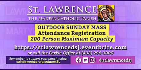 SUNDAY, November 29 @ 9:30 AM Mass Registration tickets