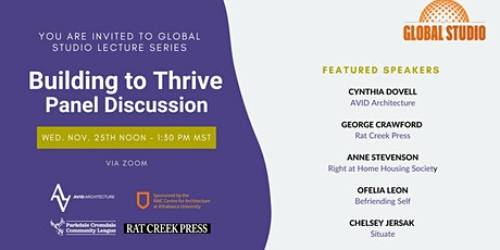 Building to Thrive: A Panel Discussion tickets