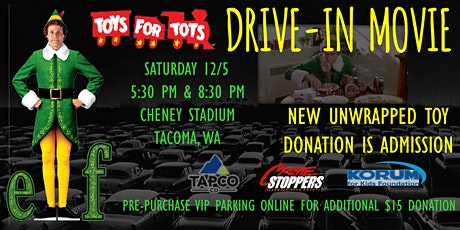ELF - Drive In Movie & Toy Drive tickets