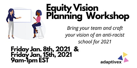 Equity Vision Planning for your School tickets