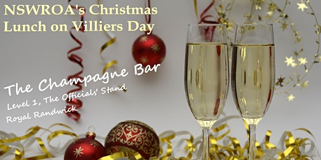NSWROA's Christmas Party on Villiers Day tickets