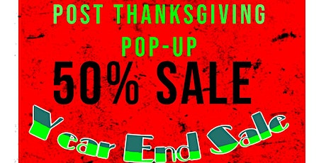 Year-End Pop-Up 50% off Sale - benefits charity for kids in South Africa tickets