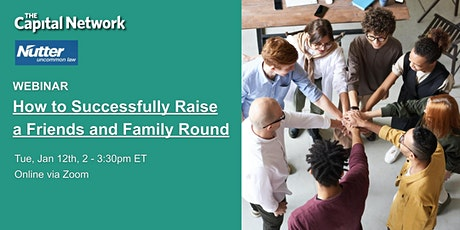 How to Successfully Raise a Friends and Family Round tickets