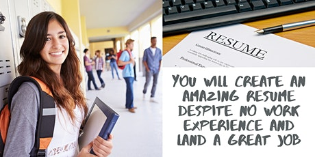 How To Create A Resume With NO Work Experience tickets