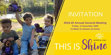 SHINE for Kids Annual General Meeting 2020 tickets