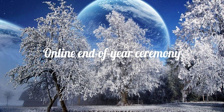 Online end-of-year ceremony tickets