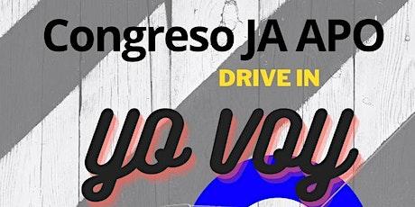 "Congreso JA "" Yo Voy"" - Drive In tickets"