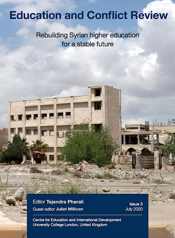 Rebuilding Syrian Higher Education for a Stable Future - ECR launch image