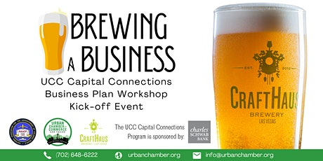 Brewing a Business - Business Plan Workshop Kick-off Event tickets