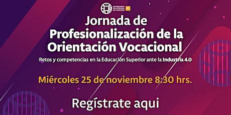 2a Jornada de Profesionalización de la Orientación Vocacional boletos
