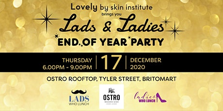 Lads & Ladies - End of year Party! tickets