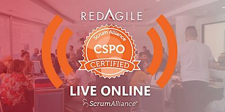 CERTIFIED SCRUM PRODUCT OWNER®(CSPO®)   21-22 JAN  Australian Course Online tickets