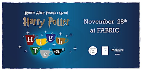 HARRY POTTER High Tea @ FABRIC tickets
