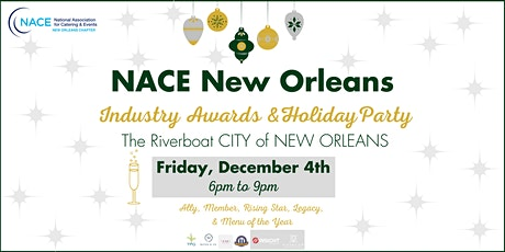 NACE Industry Awards & Holiday Party tickets