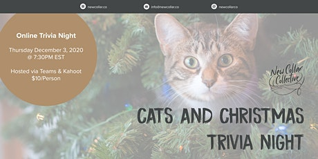 New Collar Collective Virtual Cat Themed Trivia tickets