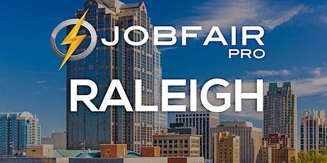 Raleigh Virtual Job Fair August 10, 2021 tickets