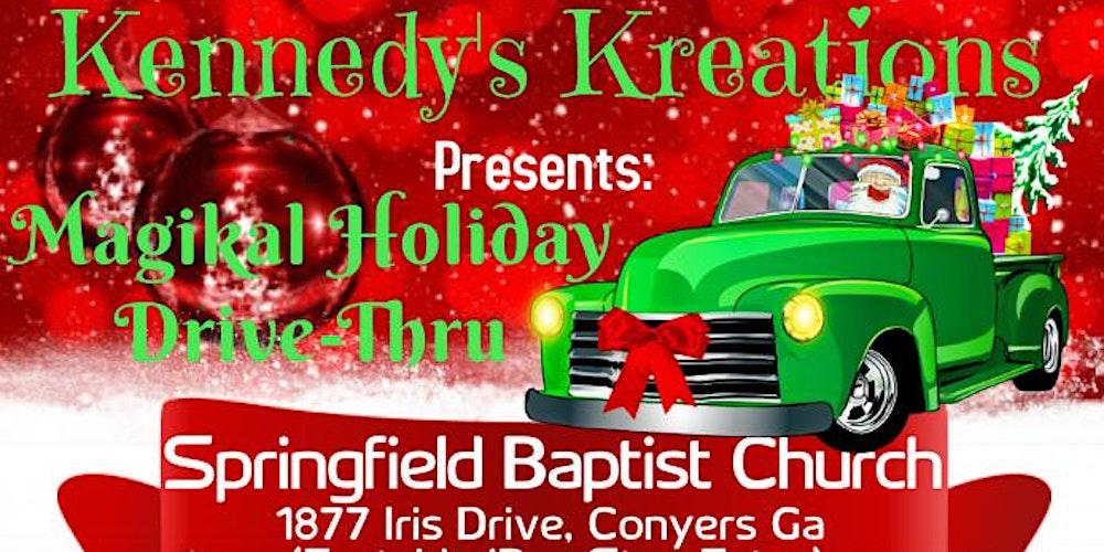 Magikal Holiday   Drive Thru Tickets, Sat, Dec 19, 2020 at 1:00 PM