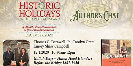 Historic Holidays Author's Chat: Gullah Days tickets