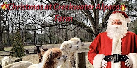 Santa Arrives at Creekwater Alpaca Farm tickets