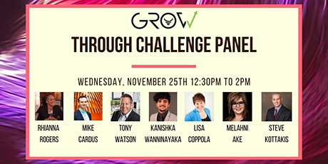 GROW Through Challenge Panel tickets
