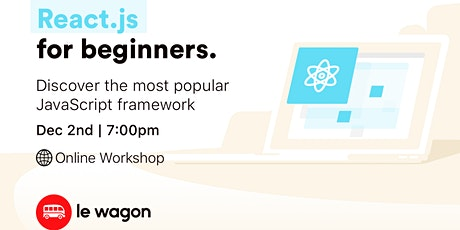 Introduction to React.js - Online Workshop tickets