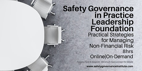 Leadership Foundation - Safety Governance tickets