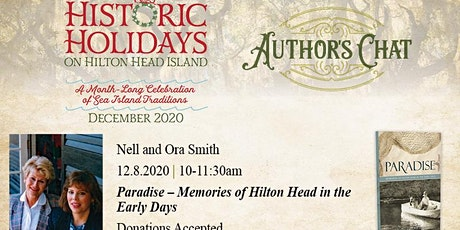 Historic Holidays Author's Chat: Paradise – Memories of Hilton Head tickets