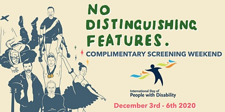 No Distinguishing Features Complimentary Screening - IDPwD 2020 tickets