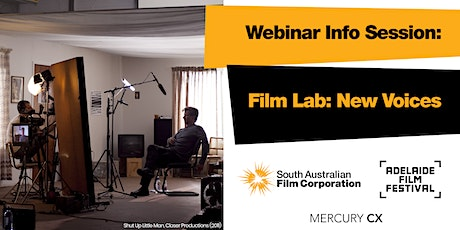 SAFC Film Lab: New Voices Webinar Information Session tickets