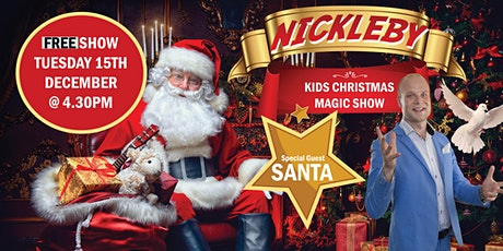 Nickleby The Magician With Special Guest Santa tickets