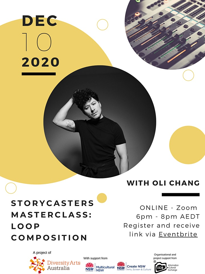 StoryCasters Masterclass: Loop Composition with Oli Chang image